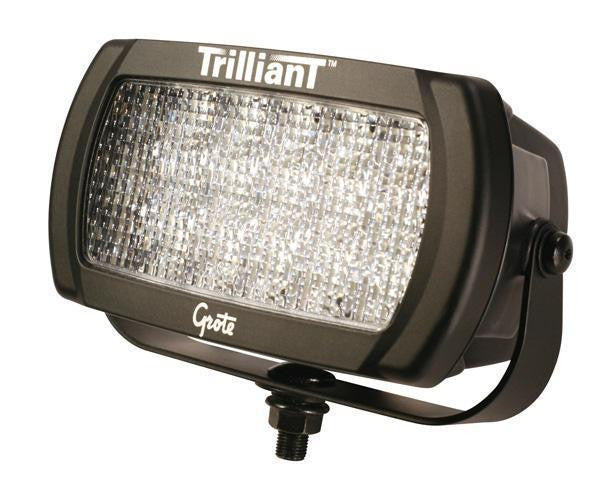 Grote 63581 Trilliant LED Work Light, 2050 Lumens, Flood Beam 12V-24V
