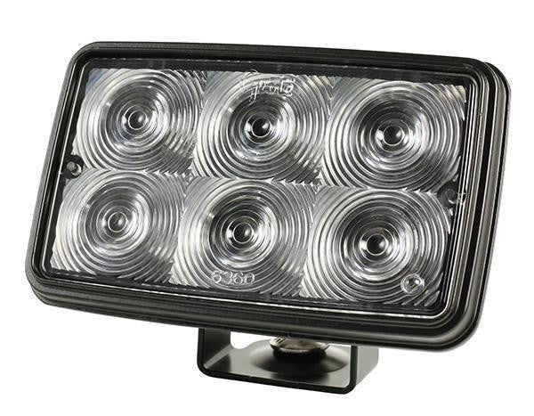 Grote 63601 Trilliant Mini LED Spot, Hardwired - Clear