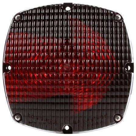 Truck-Lite 6501 Incan Red Square 2 Bulb Arrow Len Rear Turn Signal 12V ( Discontinued )