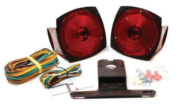 Grote 65190-5 Trailer Lighting Kit with Side Marker Light w/out Clearance Marker