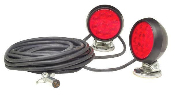 Grote 65432-4 Heavy Duty Super Nova LED Magnetic Towing Kit
