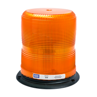 ECCO 6720A Amber SAE CLASS II, 3-Bolt Strobe Beacon 12-48 V - Levine Auto and Truck Lighting