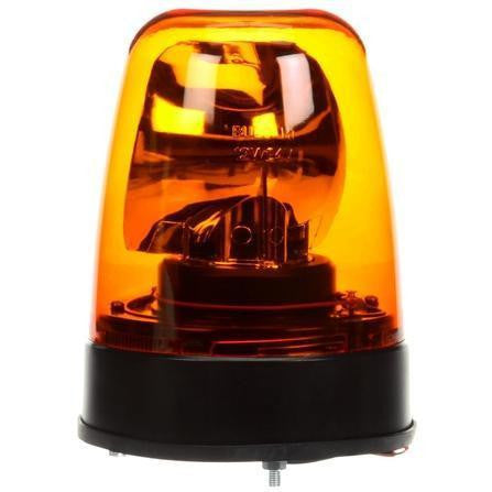 Truck-Lite 6822A Halogen Rotating Beacon Yellow Permanent Mount 12V