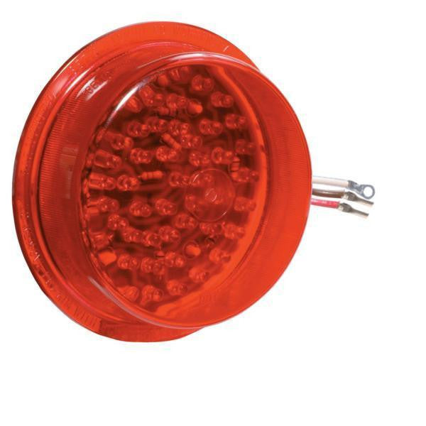 Betts 710013 Red (60) Diode LED 12v Deep Lens insert with (1) eyelet & (2) splice connectors for 40, 45, 47 & 70 Series Valox Lamps