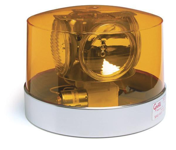 Grote 76243 Yellow Four Sealed-Beam Roto-Beacon