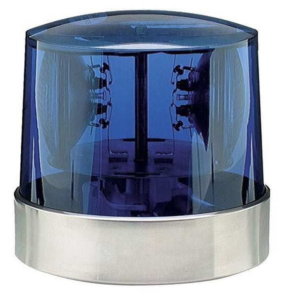 Grote 76285 Blue Two Sealed-Beam Roto-Beacon 24V