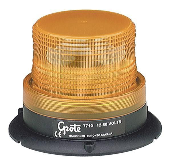 Grote 77103 Yellow Mighty Mini Stobe - Levine Auto and Truck Lighting