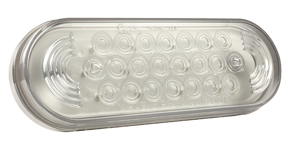 Grote 77361 Clear Oval LED Stobe Light