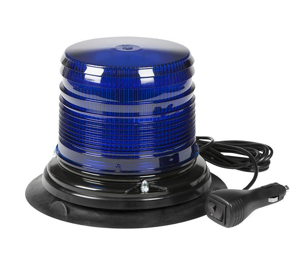 Grote 78045 Blue Class II LED Beacons with S-Link Synchronization, Vacuum Mount
