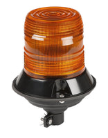 Grote 78123 Amber LED Class II Beacon Light w/ flexible DIN mount