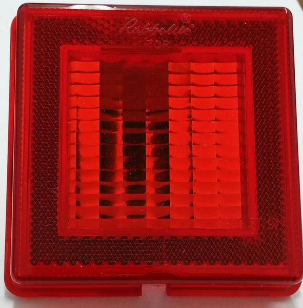 Truck-Lite 8009 Rear position/stop w/ reflector lens, Red