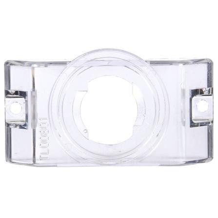 Truck-Lite 00801 Bracket Mount, 2 in Diameter Lights, Round, Clear, 2 Screw Bracket Mount