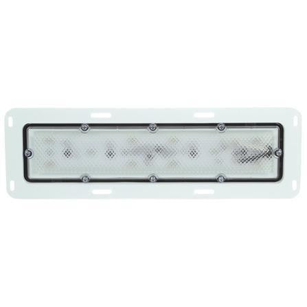Truck-Lite 80251C 80 Series, LED, 10 Diode, Clear, Rectangular, 12V