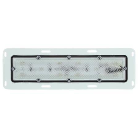 Truck-Lite 80253C 80 Series, LED, 10 Diode, Clear, Rectangular, Dome Light, Bracket, 12V