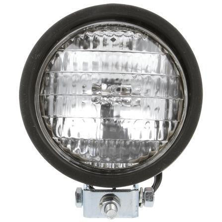 Truck-Lite 80378 Par 36 5 in Round Incandescent Work Light Black 1 Bulb S/A Wire W/MLD BLLT 12V