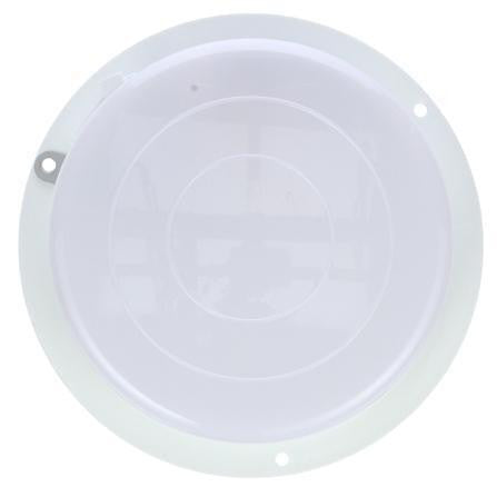 Truck-Lite 80482 80 Series, Incan., 1 Bulb, Clear, Round, Dome Light, 3 Screw Bracket, 12V