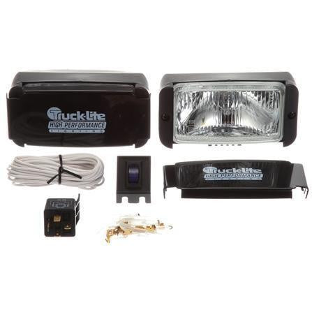 Truck-Lite 80525 Clear Glass Halogen Driving Light Kit