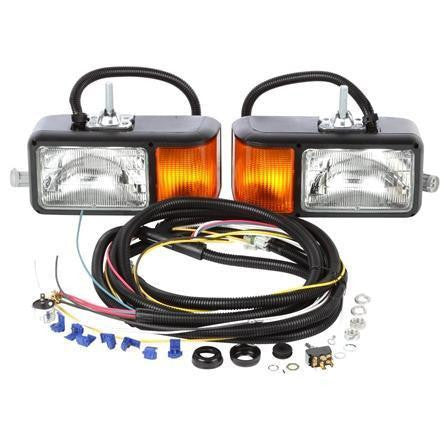Truck-Lite 80805 Universal, Halogen, 4 x 6 in. Rectangular, Snow Plow Light, 12V, Kit