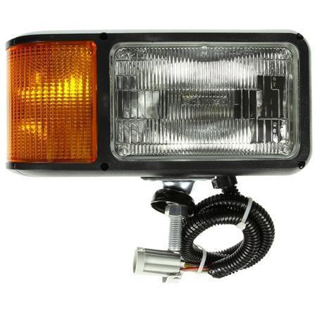 Truck-Lite 80849 Universal, RH Side, Halogen, 4 x 6 in. Rectangular, Snow Plow Light, 12V
