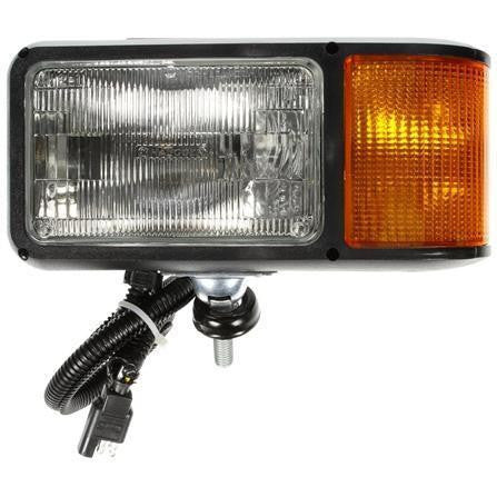 Truck-Lite 80860 Economy, LH Side, Halogen, 4 x 6 in. Rectangular, Snow Plow Light, 12V