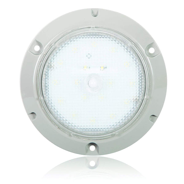 "Maxxima M84405B Clear 15 Diode 5.50"" LED Dome Light"