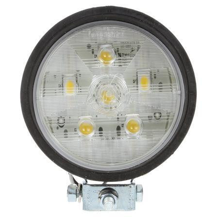 Truck-Lite 81260 81 Series Par 36 4 In Round LED Flood Light Black 6 Diode 12V