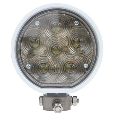 Truck-Lite 81291 81 Series Aux. 4 in. Round LED Spot Light, White, 6 Diode, 24V