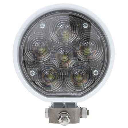 Truck-Lite 81391 81 Series Aux. 4 in. Round LED Spot Light, White, 6 Diode, 12V