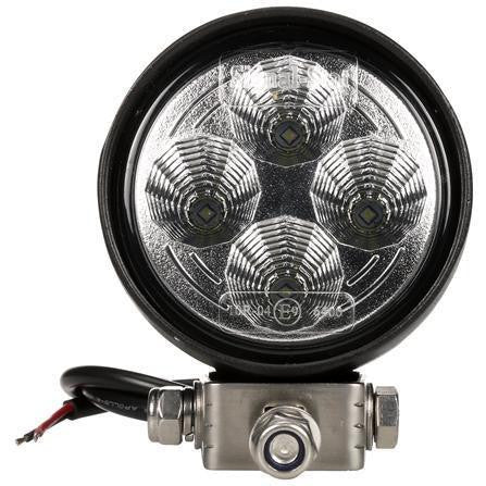 Truck-Lite 8140 3 in Round LED Flood Light Black 4 Diode 12-36V