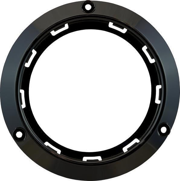 "Peterson 817-09 Black Surface Mount Bracket for 4"" Round Lights"