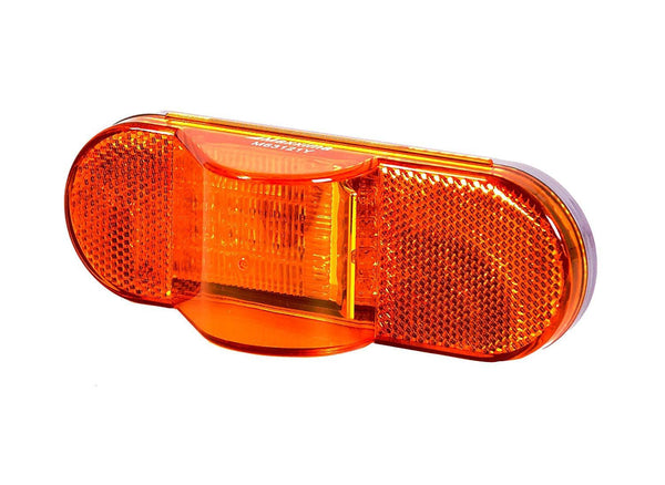 Maxxima M63121Y Oval Amber Side Turn/Side Marker