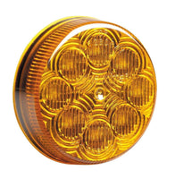 "Maxxima M16280Y 2 1/2"" Round Amber Clearance Marker - Levine Auto and Truck Lighting"