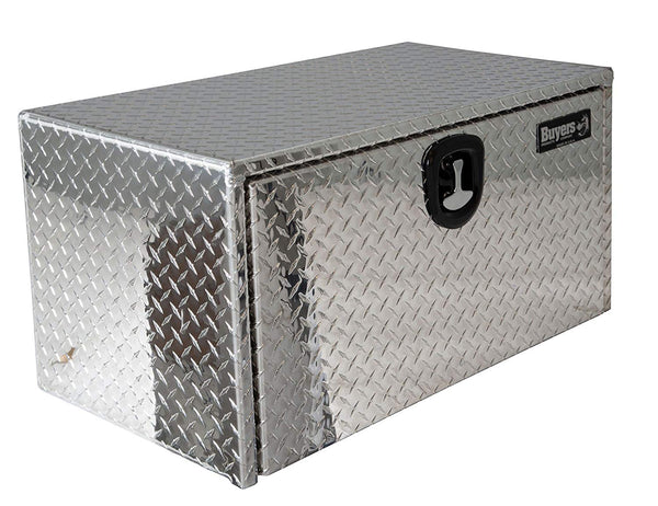 Buyers Products 1705101 Plane 18 x 18 x 18 Inch Diamond Tread Aluminum, Under body Truck Box