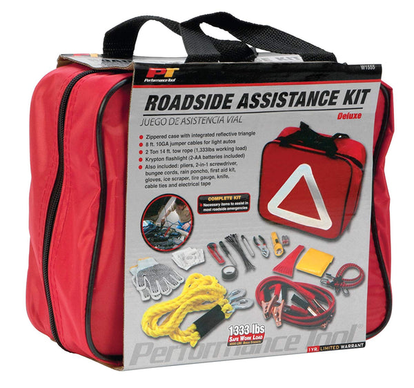 Wilmar Performance Tools W1555 Deluxe Roadside Assistance Kit