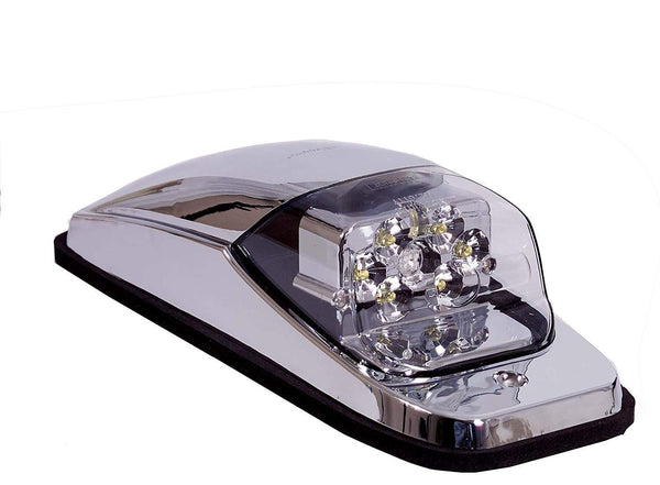 Maxxima M27011YCL Amber Clear Lens Peterbilt Chrome Cab Light