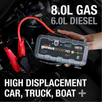 NOCO® GB70 Boost HD 2000A UltraSafe Lithium Jump Starter - Levine Auto and Truck Lighting