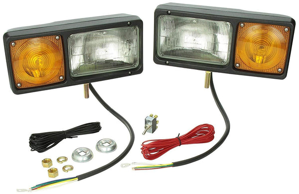 Grote 64261-4 Per-Lux® Sealed Beam Snowplow Light Kit - Levine Auto and Truck Lighting