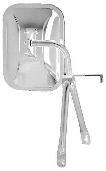 Peterson 821 Stainless-Steel Universal Swing-Away Mirror
