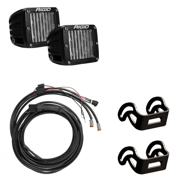 Truck-Lite 84764 Rigid Universal D-Series LED Fog Light, Hardwired, 12-36V, Kit