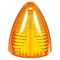 Truck-Lite 8861A Triangular, Yellow, Acrylic, Replacement Lens 1 Screw