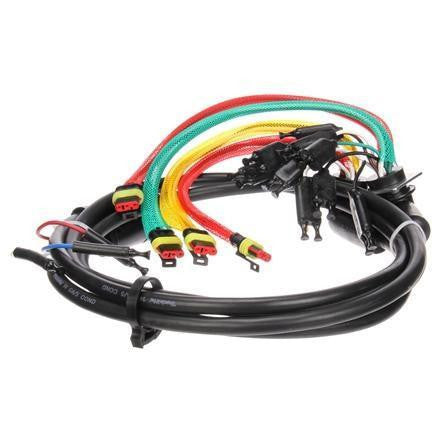 Truck-Lite 88931 88 Series 14 Plug Rear 55 in License Stop/Turn/Tail Harness Auxiliary Tail Breakout