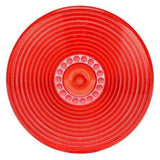 Truck-Lite 8909 Circular, Red, Polycarbonate, Replacement Lens, Snap-Fit