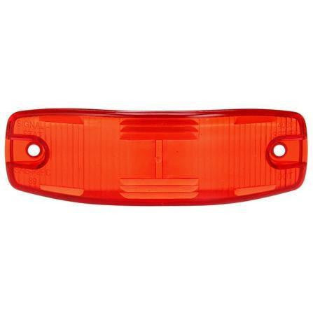 Truck-Lite 8918 Rectangular, Red, Polycarbonate, Replacement Lens, 2 Screw