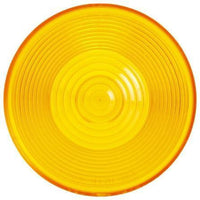 Truck-Lite 8919A Circular, Yellow, Acrylic, Replacement Lens, Snap-Fit