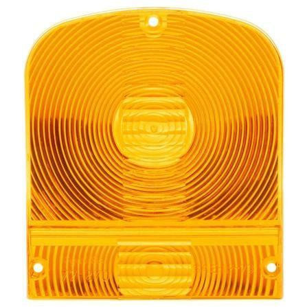 Truck-Lite 8923A Rectangular, Yellow, Acrylic Replacement Lens for Signal Lights, 3 Screw, Replacement Lens, Truck-Lite