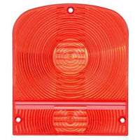 Truck-Lite 8923 Rectangular, Red, Acrylic, Replacement Lens for Signal Lights, 3 Screw, Replacement Lens, Truck-Lite