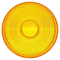 Truck-Lite 8936A Circular, Yellow, Polycarbonate, Replacement Lens, Snap-Fit