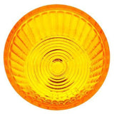 Truck-Lite 8943A Circular, Yellow, Polycarbonate, Replacement Lens, Snap-Fit