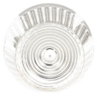 Truck-Lite 8943W Circular, Clear, Polycarbonate, Replacement Lens, Snap-Fit
