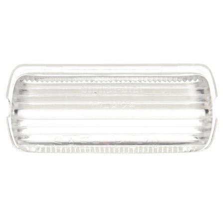 Truck-Lite 8946W Oval, Clear, Acrylic, Replacement Lens, Snap-Fit